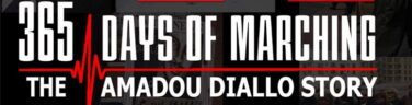 365 Days of Marching- The Amadou Diallo Story Logo